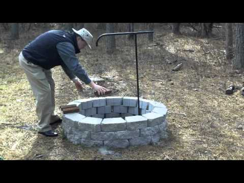 Campfire Swing Arm Grill Review By Outback Q Youtube