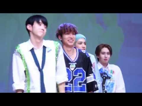 [FANCAM] 180914 영등포 팬사인회 :: 청개구리 (Naughty Boy) - YUTO Focus
