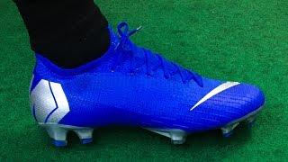 BLUE Nike Mercurial Vapor 12 (Always Forward Wave 2) - Unboxing, Review & On Feet