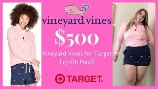 $500 Vineyard Vines X Target Try-On Haul!