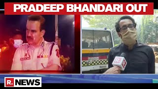 Pradeep Bhandari Leaves Khar Police Station After 3 Hours Of Questioning