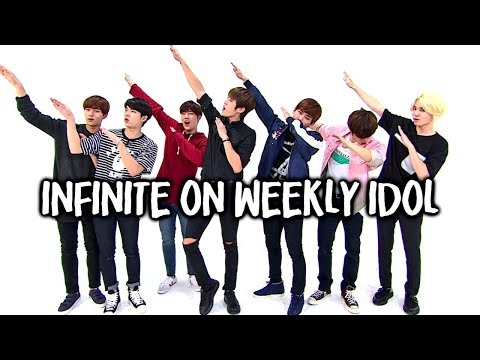Infinite being a mess on Weekly Idol for 7 years