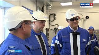 На Омском нефтеперерабатывающем заводе прошла отгрузка миллионной тонны светлых нефтепродуктов