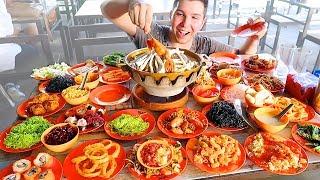 The Best All You Can Eat Buffet I've Ever Seen • MUKBANG