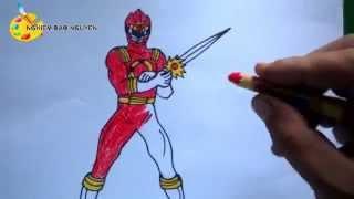 Vẽ siêu nhân Gao/ How to Draw Gao Superman