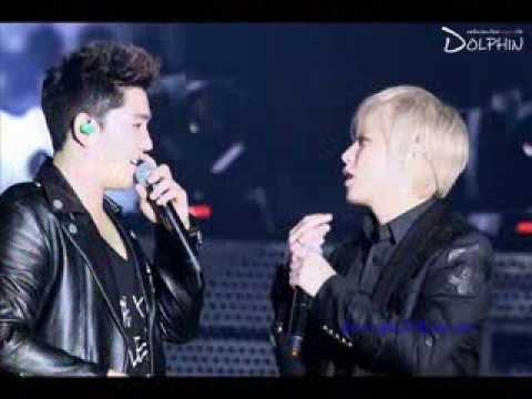 Super Junior Kangin and Sungmin KangMin