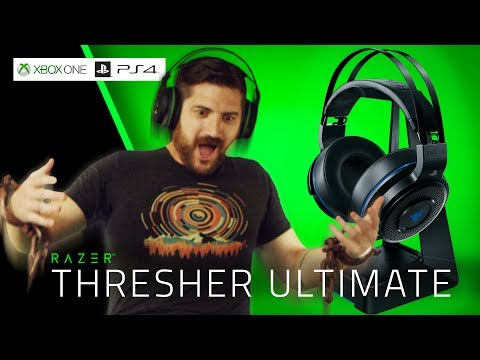 Razer Thresher Ultimate for PS4 & Xbox One, the Comfiest Wireless Gaming Headset