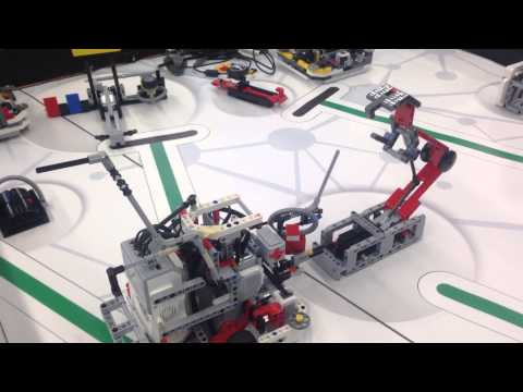 First loop completed!!!205 points for FLL World Class 2014