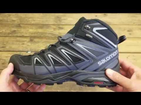 meet a9135 6c25d Salomon Mens X Ultra 3 Wide Mid GORE-TEX Boots