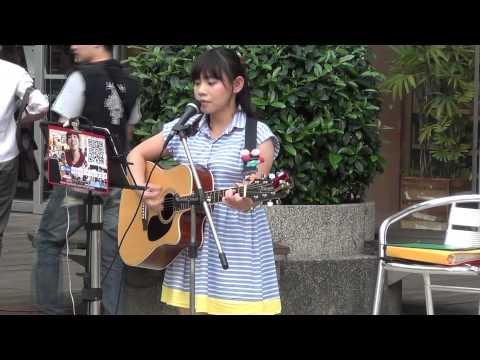 Kiki 陳亞琦 郭采潔-不過問【Tiger City 廣場街藝精選2014.05.24 】