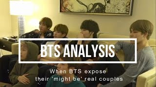 When BTS expose their 'might be' real couples (Taekook, Yoonmin, and Namjin)