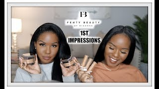 FENTY BEAUTY Concealer & Setting Powder 1st Impressions