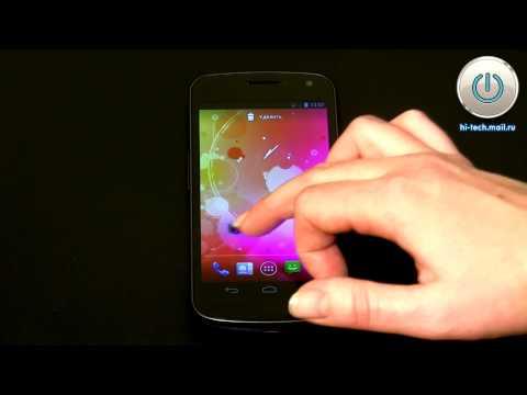 Видеообзор смартфона Samsung Galaxy Nexus на Android 4