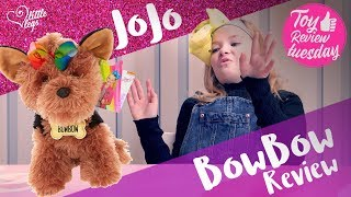 JoJo Siwa BowBow Dog Review and new Blind Bag Bow Review - Toy Review Tuesday