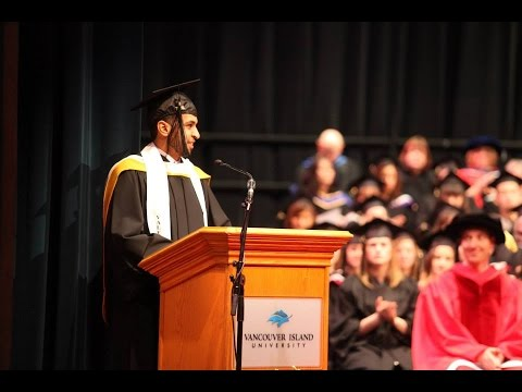 Abdul Alenazi  Best Valedictorian Motivation Speech  #VIUGrad2015