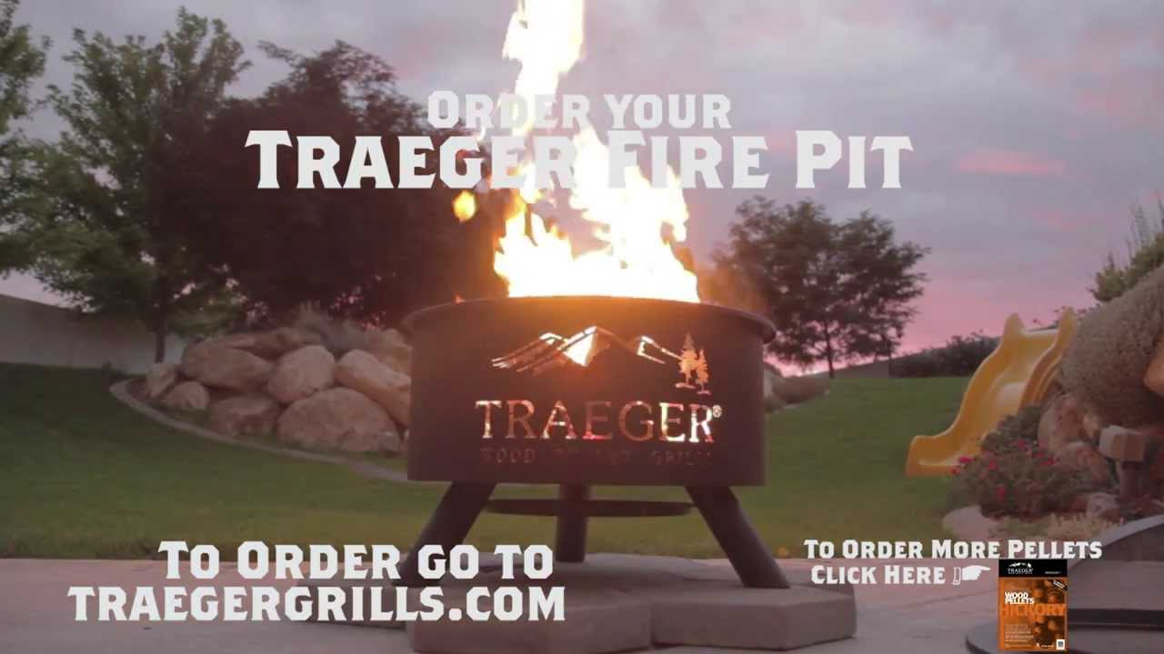 Outdoor Bbq Fire Pit By Traeger Grills Youtube