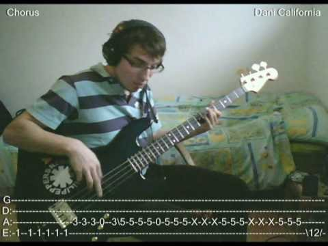 Baixar RHCP - Dani California [Bass Cover with TABS]