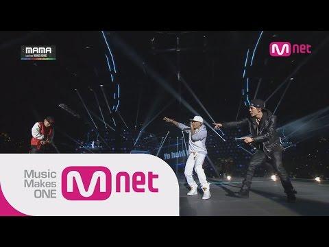 Dok2+BOBBY+The Qquiett+Masta WU-연결고리(YGGR)+이리와봐(COME HERE) at 2014 MAMA