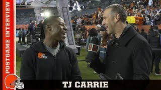 "T.J. Carrie on Key Interception ""I Read Him the Whole Time"" 