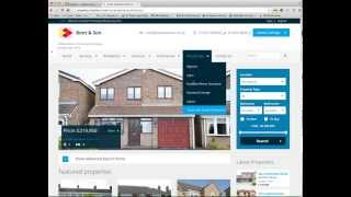 cleartarn Property Website and Real Time Property Portal Feed System