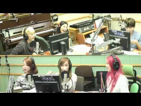 130729 f(x) question to members + aegyo + ending Super Junior Ryeowook KTR