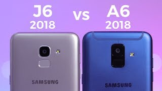So sánh Galaxy A6 và J6 2018 - Cùng một cấu hình mà chênh 1,5 triệu?