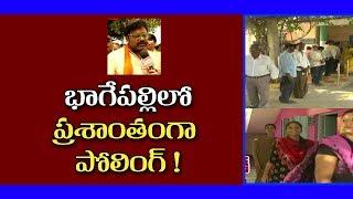 Polling in actor Saikumar's constituency peaceful..