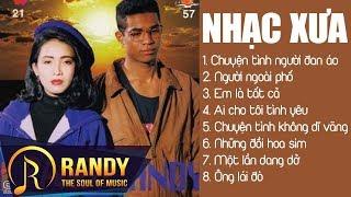 Nhạc Vàng Randy Mỹ Huyền ‣ LK Nhạc Vàng Hải Ngoại Xưa Bất Hủ | Chuyện Tình Người Đan Áo