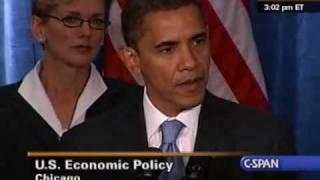 President-Elect Barack Obama Holds First Press Conference