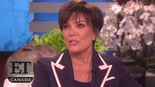 Kris Jenner Talks Kanye West And Khloe Kardashian