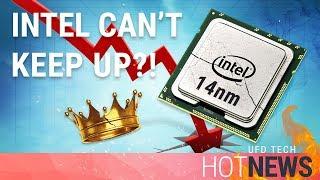 Intel Losing Their CPU Production Advantage