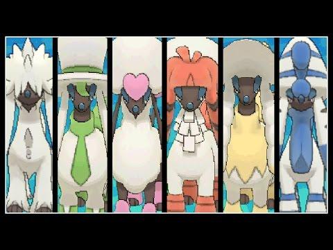 Pokemon X and Y WiFi Battle - FULL FURFROU TEAM !