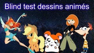Blind test dessins animés (séries)