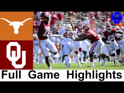 #22 Texas vs Oklahoma (QUADRUPLE OVERTIME) | 2020 Red River Showdown | College Football Highlights
