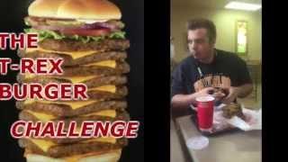 Jurassic World Challenge: T-Rex Burger