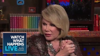 Joan Rivers Rates That Face!   WWHL