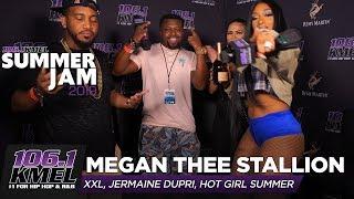 Megan Thee Stallion Talks Moneybagg Yo, Jermaine Dupri, and Hot Girl Summer