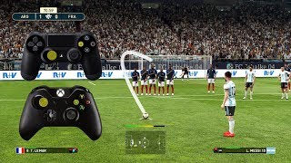 PES 2019 FREE KICK TUTORIAL | Xbox & Playstation | HD 1080p