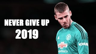 David De Gea 2019 ► NEVER GIVE UP - Wow Incredible Saves - HD