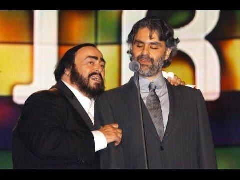 Andrea Bocelli and Luciano Pavarotti - A Marechiare