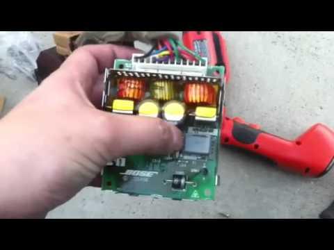 350z subwoofer amp repair youtube. Black Bedroom Furniture Sets. Home Design Ideas