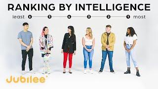 Strangers Rank Their Intelligence | IQ vs First Impressions
