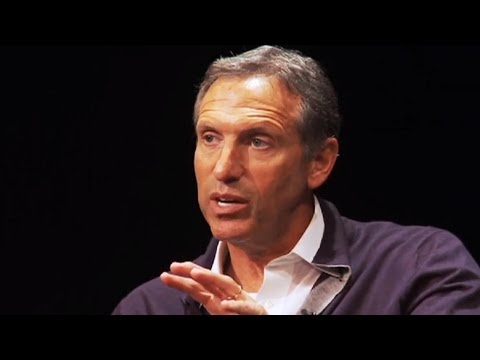Howard Schultz: Being an Entrepreneur .