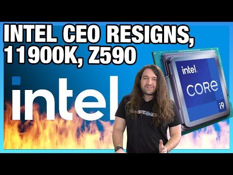 Intel CEO Resigns, B560 RAM Unlocked, 11900K Specs, & Chipset Differences (B560, H570, Z590)