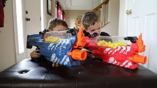 Nerf War:  The Ultimate Box Fort 3