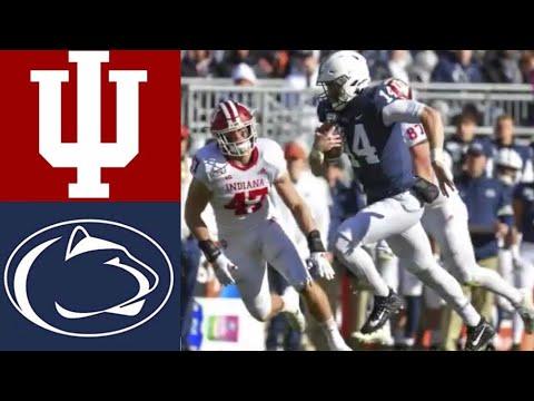 Indiana vs #9 Penn State Highlights   NCAAF Week 12   College Football Highlights