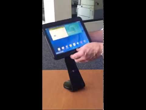 Grip and Dock iPad Stand - iPad Secure Mobility Solution - iPad Hand Grip Retail Kiosk