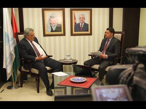 غنيم لوطن: تجاوزات أجبرتنا على اعادة اموال للبنك الدولي.. ونحتاج 200 مليون دولار لإنقاذ مياه غزة