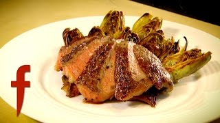 Rib-Eye Steak with Grilled Artichokes | Gordon Ramsay's The F Word Season 3