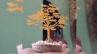 How To Make A Wire Tree | DIY Wire Tree | Mini Bonsai Wire Tree